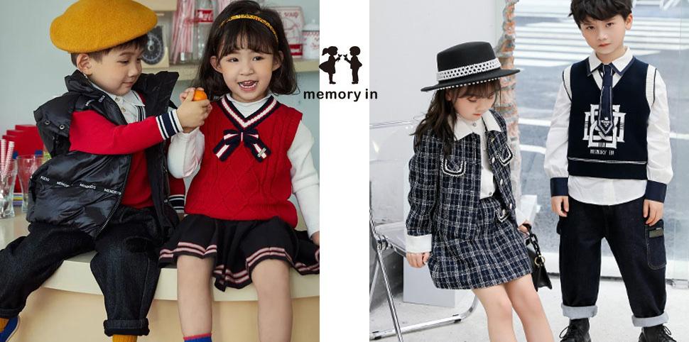 两个小朋友童装