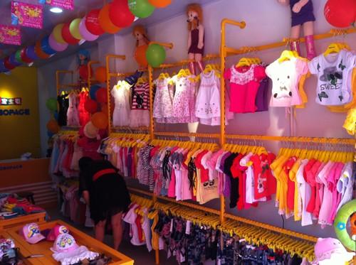 儿童服装店面装修