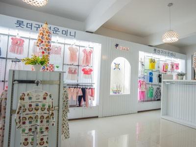 可乐米店铺,可乐米专卖店,可乐米童装店铺装修,天津米