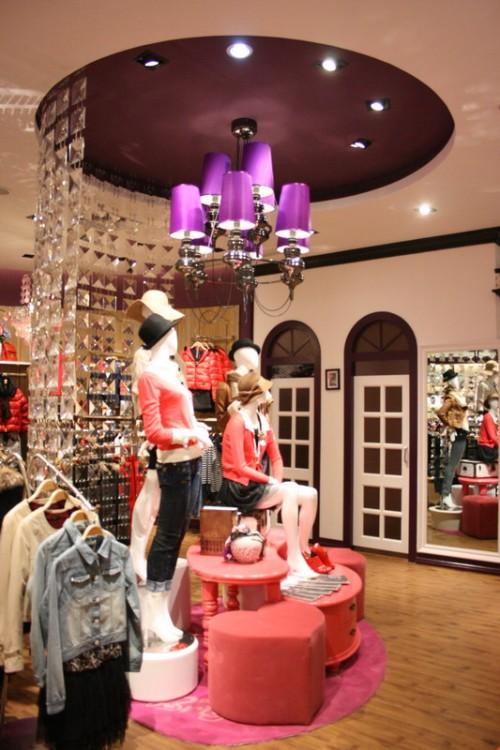 欧式女装小店风格图片