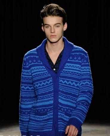 七款男士针织毛衣 唤起男人儿时记忆