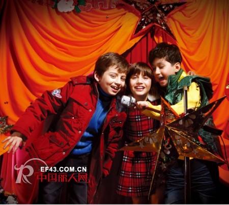 青蛙皇子2010冬装发布 打造中国儿童运动休闲装第一品牌