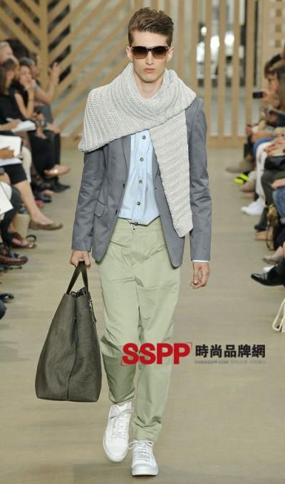 lv 2011春夏男装时装展系列图片