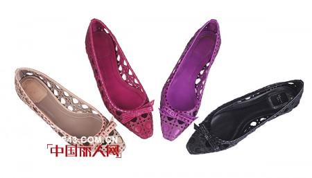 Dior2011春夏新品 平底鞋也有春天