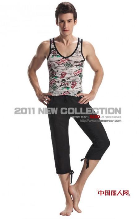 ZOD男士貼身時裝展示男人內衣的時尚與性感