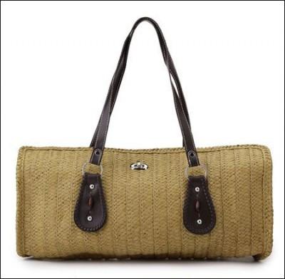 2011夏日彩色减龄草编包 引领高街新时尚