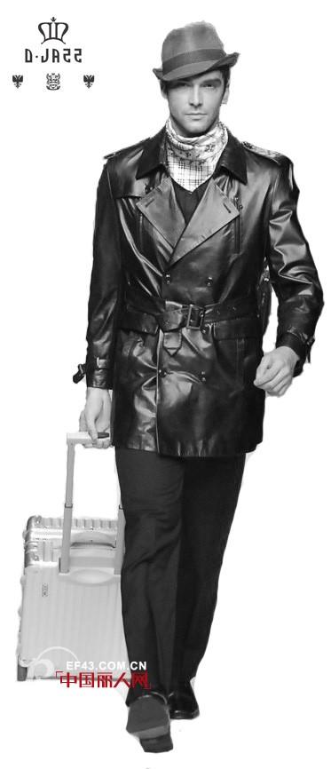 D.JAZZ帝爵士男士皮衣 让每一位拥有者真正体会到奢华的时尚
