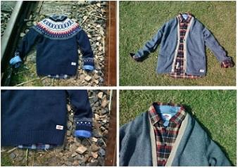 美国大牌DICKIES时尚毛衣  让潮客温暖过冬