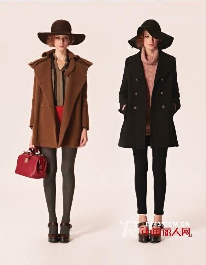 TITI女装2012新装扮 皮草+廓形外套穿出好气色