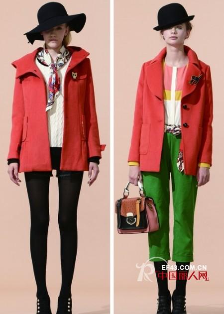 马克华菲潮流女装 不同色系缔造时尚女王
