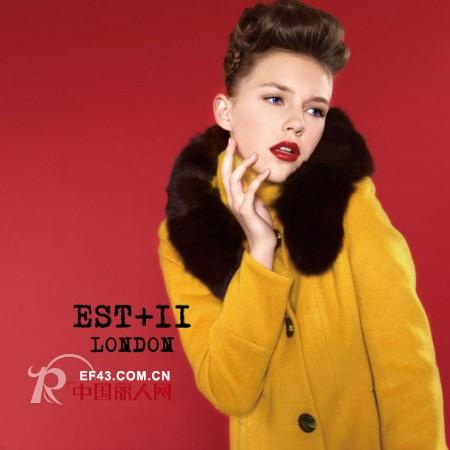 EST+II品牌女装 镶毛领缔造温暖感