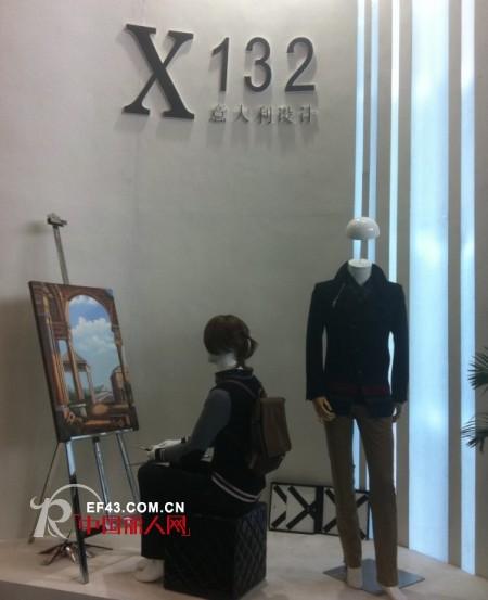 意大利设计师品牌x132男装2012chic大放异彩
