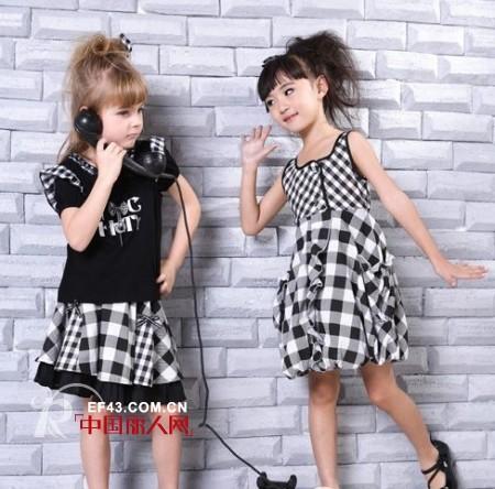 菁菁草时尚童装 带给孩子一个绿色童年