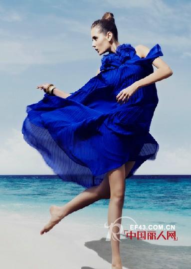 时尚女装品牌马天奴 展示休闲华丽的味道