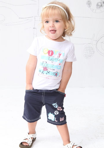 樱桃贝贝童装陪伴孩子健康快乐成长图片