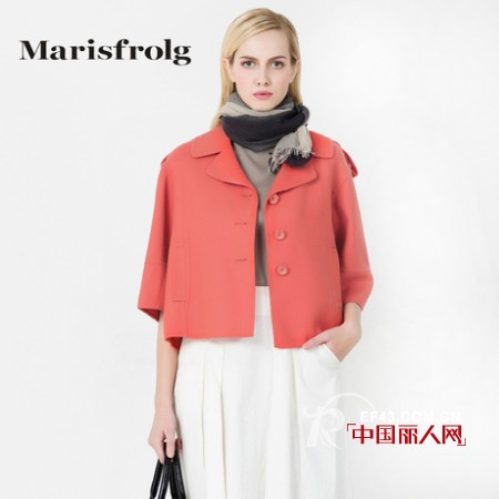 玛丝菲尔女装2013春夏款 饱和粉红让你感受缤纷季节