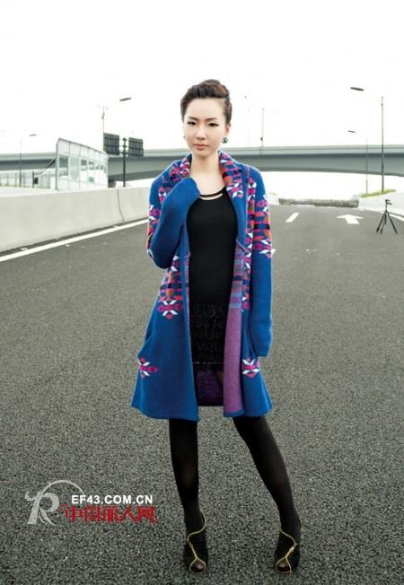 2013秋冬长衫搭配  把握轻松自然风格兼具精致