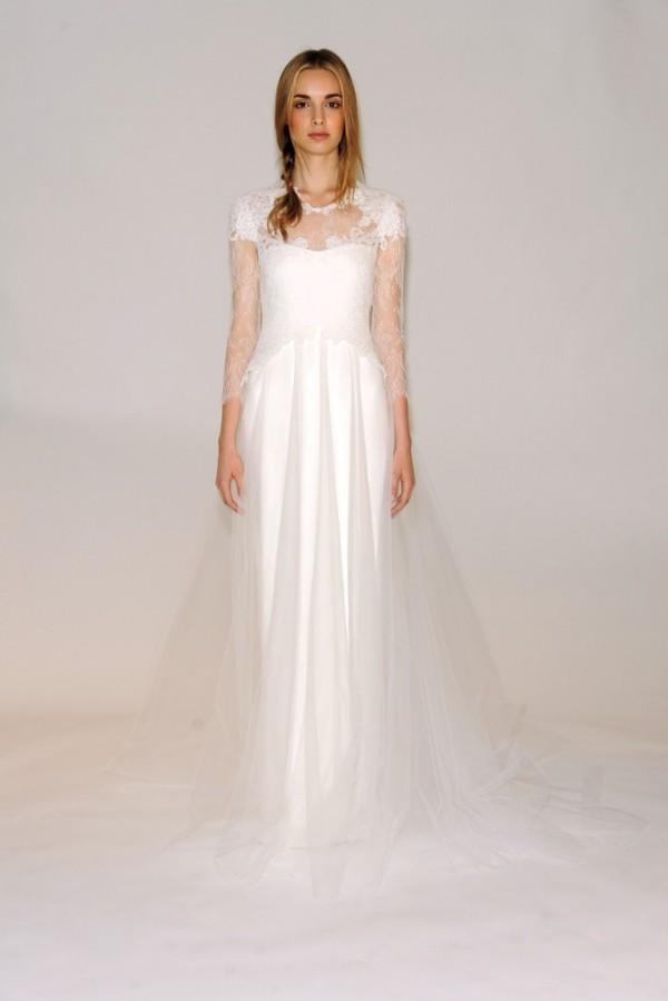 玛切萨Marchesa 2014秋冬婚纱新品发布