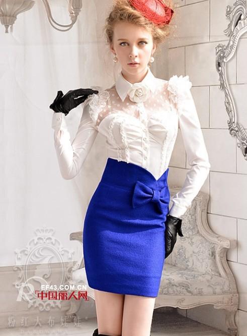 宝蓝色裙子,宝蓝色连衣裙