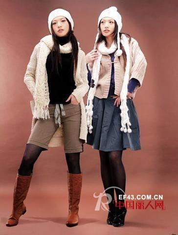 秋冬必备单品毛线帽子和围巾