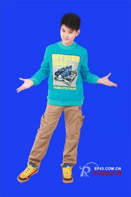 青少年穿什么衣服合适 少年装服装搭配
