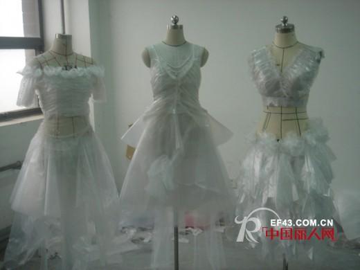 环保服装设计图 塑料袋服装图片; 童装服装设计图图片_童装服装设计图