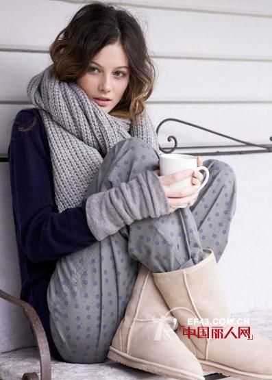 女士围巾搭配 针织衫+围巾经典演绎