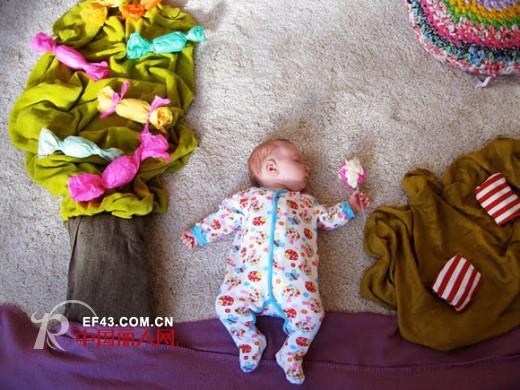 宝宝创意摄影——躺着也能凹造型