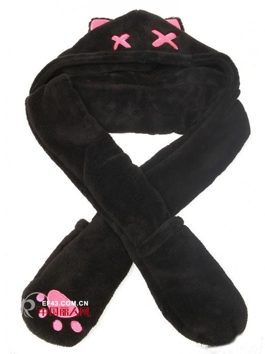 给男女朋友送什么好 别有心意的圣诞礼—创意围巾图片