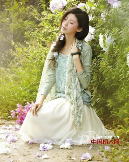 素言2013春夏装女装每个女人都有少女情怀