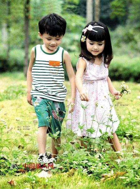 巴比兔童装新品 打造甜蜜可爱小童星_中国丽人网