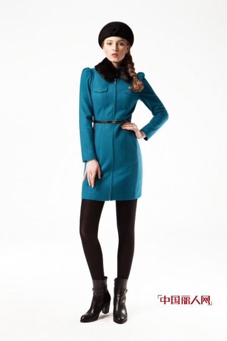 长款尼大衣外套 职场女性冬季必备款型