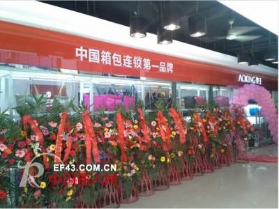 奥王这样成为中国箱包连锁第一品牌
