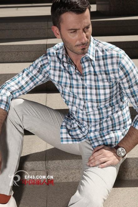 男士格纹衬衫应该怎么选