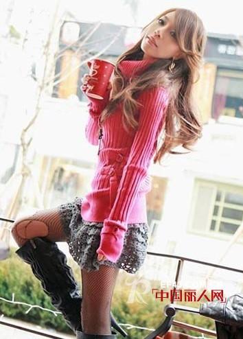 短裙与美腿的搭配法则 秋季的韩式搭配