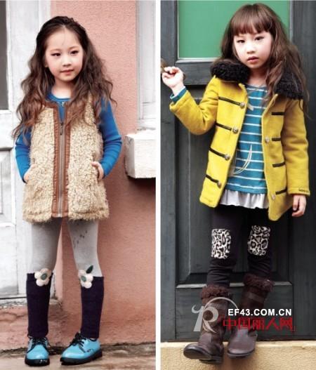 最新童裝搭配 呢子小外套怎么搭配