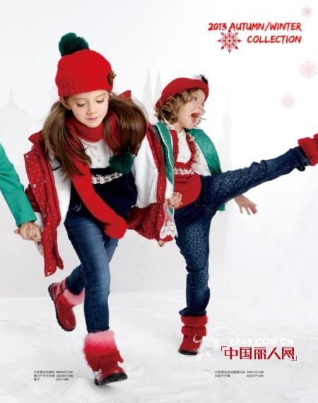 红色配 绿色 好看吗 童装 颜色 搭配 中国品牌 童装