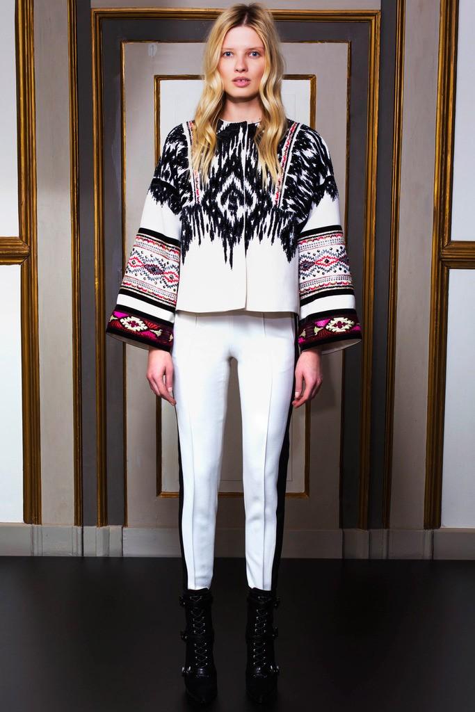 服装设计师品牌Emilio Pucci 发布2014早秋女装系列