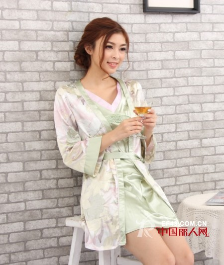 新型竹麻家居服设计 追求健康简约现代生活