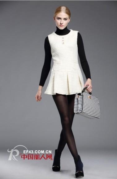 黑白衣服搭配 简约时尚风搭配