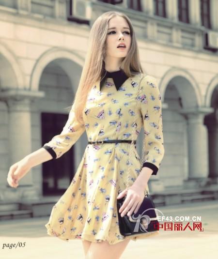 雪纺连衣裙怎么搭配好看 春天流行什么样的连衣裙