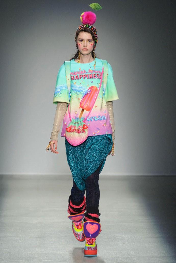 巴黎时装周ManishArora2014秋冬系列发布