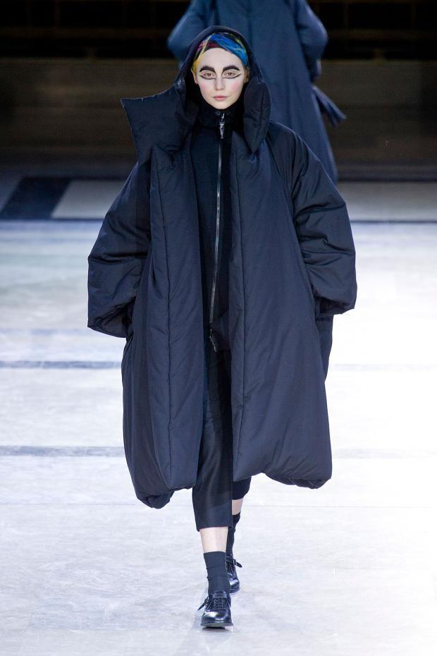 巴黎时装周Yohji Yamamoto 2014秋冬秀场