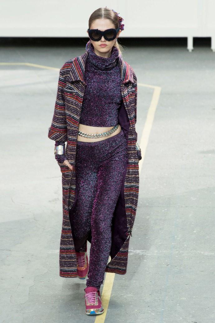 巴黎时装周Chanel 2014秋冬新品秀场