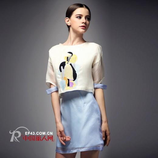 愛妮格女裝2014夏季新款搭配 清新女神范裝扮