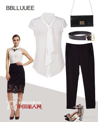 白衬衫搭配什么裤子 女士白衬衫搭配
