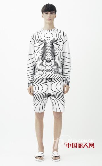 2014新款夏季男装流行趋势 印花潮流不褪色