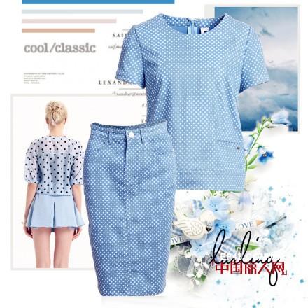 浅蓝色衣服搭配