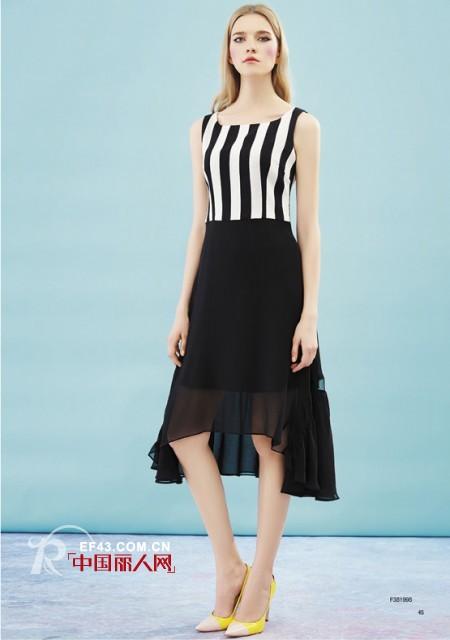 夏季流行元素有哪些   夏季竖条纹连衣裙怎么穿