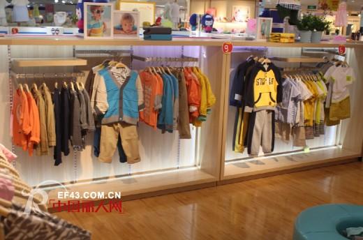 热烈祝贺欣薇尔童装强势入驻广州新光百货 新店正式开业欢迎选购!
